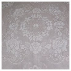 Plymouth Lace Tablecloth Square