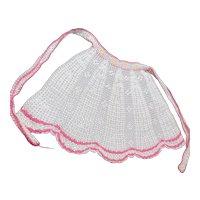 Crocheted Tea Apron