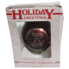 Hershey Chocolate 30 Year Christmas Ornament