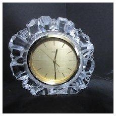 Linden Quartz Mantel Alarm Clock