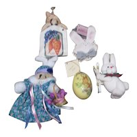 Set of 5 Easter Decorations