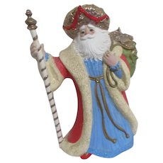 Arabian Nights Santa Claus with Music Box