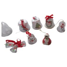 Set of 8 Christmas Bells