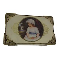 Thorne's Toffee Tin with Lock