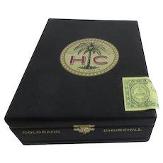 Wood Cigar Box with Latch El Corojo