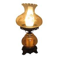Electric Double Globe Hurricane Lamp