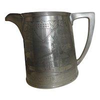 Gorman Pewter George Washington Tankard/Mug