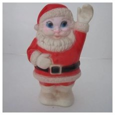 Waving Santa Squeaker Toy