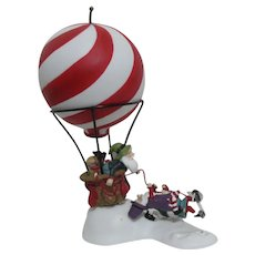 "Dept 56 North Pole Series ""Dash Away Delivery"" Hot Air Balloon"