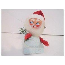 Vintage Santa Bobbing Head