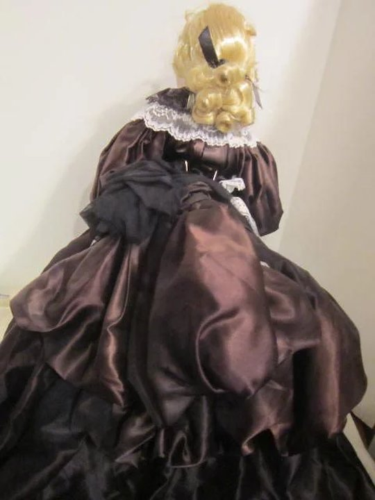 Vintage Hand-crafted Doll Antoinette by Cal Hasco Inc