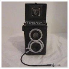 Vintage Argus Argo Flex Camera With Leather Case 1948-1958
