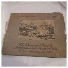 1915 Official Publication of the Panama Pacific International Exposition at San Francisco