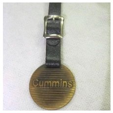 Vintage Watch Fob Cummins