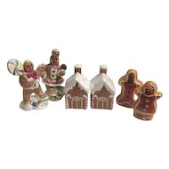 3 Sets Christmas Gingerbread S&P Shakers