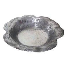 Arthur Court Aluminum Bunny Bowl