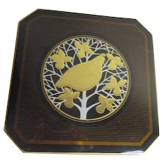 Set of 6 Otagiri Lacquerware Coasters Handcrafted in Japan