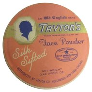 Unopened Tayton's Silk Sifted Face Powder