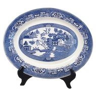 "Homer Laughlin Blue Willow 13"" Platter"