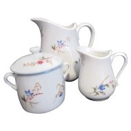 French Sugar Creamer & Milk Set