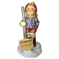 "Hummel Boy with Snow Shovel ""Let It Snow"""