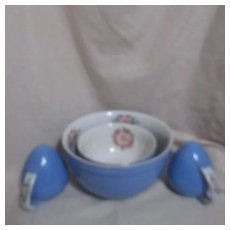 Hall's Superior Quality Kitchenware Large Blue Mixing Bowl Royal Rose with Matching Salt & Pepper