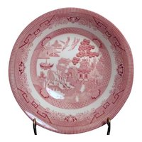 Pink Willow Rosa Round Vegetable Bowl