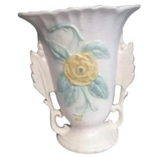 Hull Two Sided Floral Vase