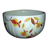 "Jewel Tea 6"" Mixing Bowl with Autumn Leaf Pattern"