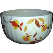 "Jewel Tea 6"" Mixing Bowl with Autumn Leaf Pattern"
