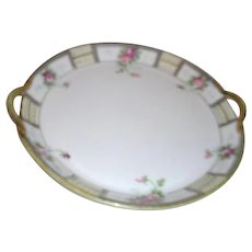 Noritake Double Handled Small Server Bowl Early 1900's