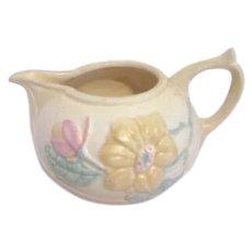 Hull Art Pottery Yellow Creamer Magnolia Pattern