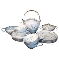 Noritake Bambina Pattern Dessert or Tea Set for Four