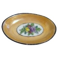 Noritake Hand Painted Lusterware Open Salt