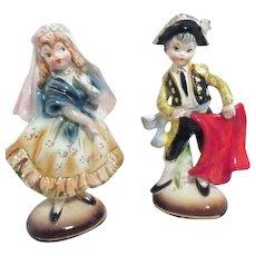 Vintage Florence Ceramics Matilda Figurine Charlotte S