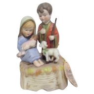 Lefton The Bethlehem Collection Nativity Scene Music Box