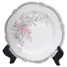 Noritake Brighton Springs Pattern Salad Plate