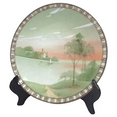 Nippon Hand Painted Decorator Plate by Noritake