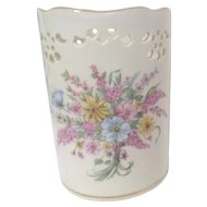 Lenox Porcelain Constitution Votive with Spring Bouquet