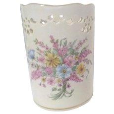 Lenox Porcelain Constitution Votive with Spring Bouquet