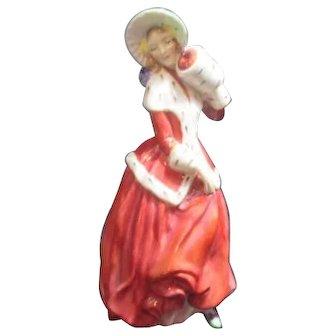Royal Doulton Figurine Christmas Morn 1946
