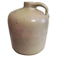Antique Light Brown Pottery Jug