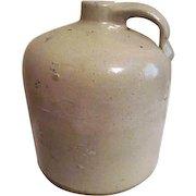 Antique Light Brown Pottery Jug