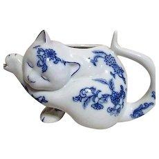 Lenox Dutch Delft Creamer Cat