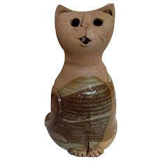 Coiled Construction Pottery Pussycat