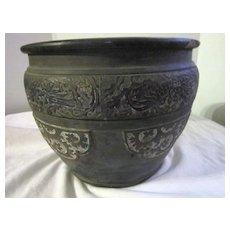 Antique Japanese Clay Pot
