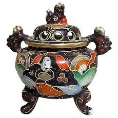 Noritake Japanese Moriage Incense Burner