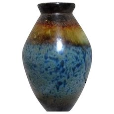 Art Studio Multi- Colored Pottery Vase