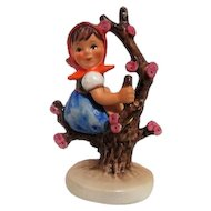 Hummel Figurine Girl in Apple Tree from Goebel West Germany