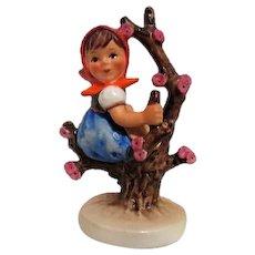 Hummel Figurine Girl in Apple Tree from Goebel West Germany